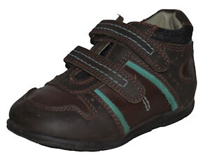 21a6de8944 Image is loading Hush-Puppies-Boys-Brown-Leather-Suede-Shoes-Little-