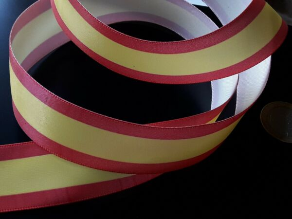 1 A 100 Meter Gewebeband Multifunktionsleiste Fahne Flagge Spanien Spanische
