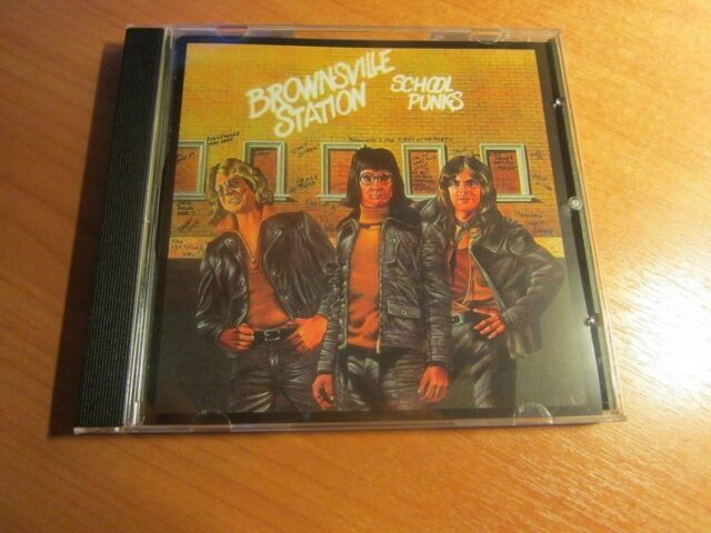 Brownsville Station - School Punks CD