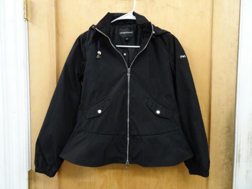 Emporio 3z2b84 Blouson 38 Black Jacket Us 2nrez Armani Style Fr4ZFUzq
