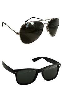 wayfarer and get one Black Aviator sunglass free