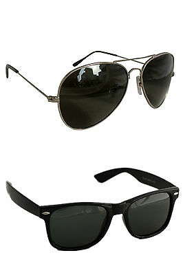 Men's Sunglasses Premium and Aviator Combo
