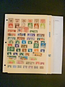 Worldwide Lot 115 Stamps in Stock Pages - Good Ireland - See Description