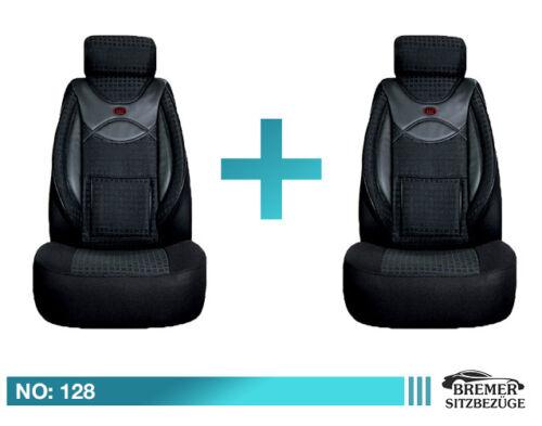 VW Passat 3C B6 /& B7 Maß Schonbezüge Sitzbezüge Fahrer /& Beifahrer 128