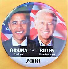 2312 Limited Issue 2008 Obama Biden CHANGE Jugate Campaign Poster