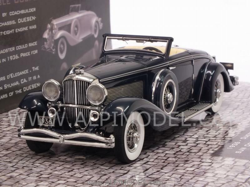 Duesenberg SJN  Supercharged Convertible Coupe 1936 Dar 1 43 MINICHAMPS 437150332  70% de réduction
