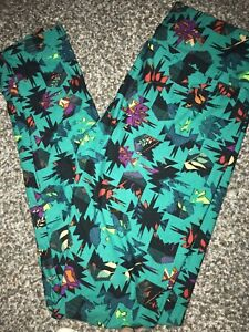 Lower Price with New Lularoe Soft Leggings Multicolor