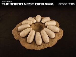 REBOR Dinosaur Collectables Theropod Nest Diorama (non-scale)