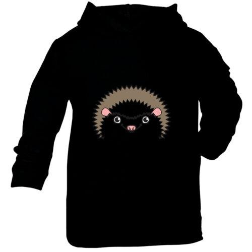 Funny Baby Infants Cotton Hoodie Hoody Am Hedgehog