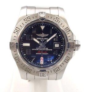 Breitling-Avenger-SEA-WOLF-Acciaio-Gents-Orologio-Automatico-B-amp-P-7090CT