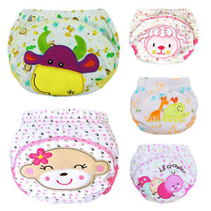 Baby-Cotton-Reusable-Cloth-Diaper-Washable-Infant-Nappies-Training-Pants-Eyeful