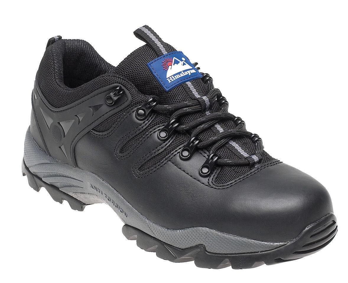 Himalayan 4020 S 1 PSRC Gorra De Cuero Negro Puntera De Acero Seguridad Zapatillas Deportivas de gravedad
