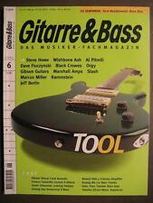 GITARRE & BASS 2001 # 6 - TOOL STEVE HOWE AL PITRELLI MARSHALL AMPS RAMMSTEIN
