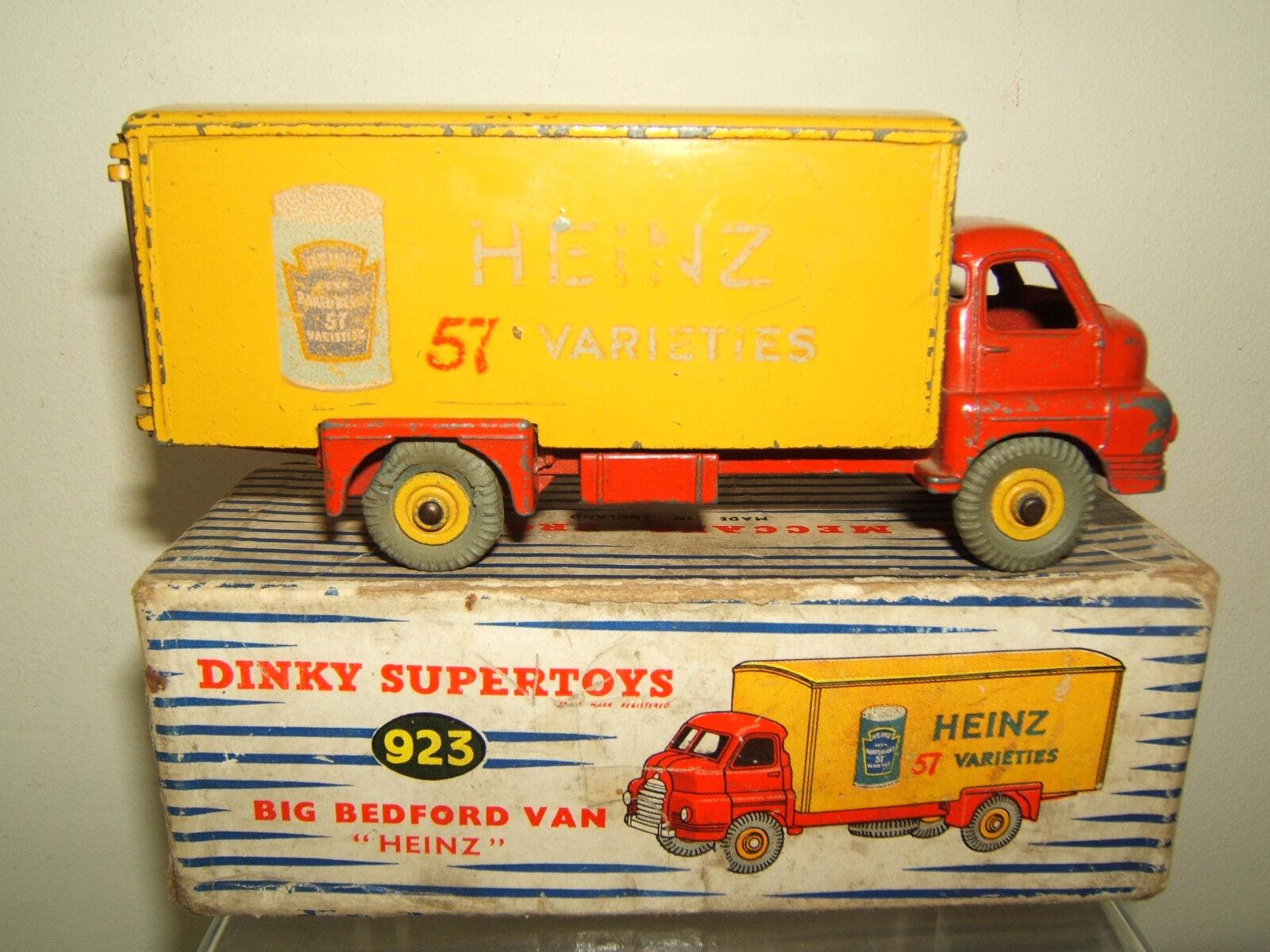 Dinky Toys Modelo No.923 'Heinz' gran Bedford Van VN MIB
