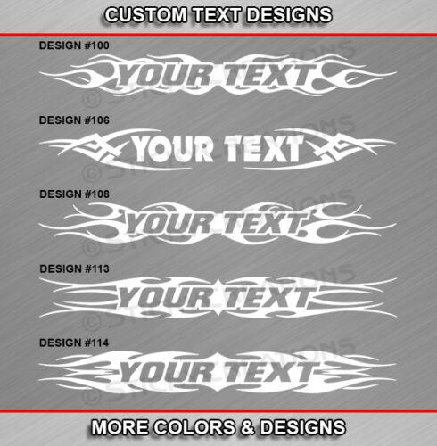 Fits HYUNDAI TIBURON Custom Windshield Tribal Flame Design Graphic Sticker Decal