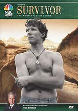 NBC News: Survivor: The Aron Ralston Story (DVD, 2006) * NEW *