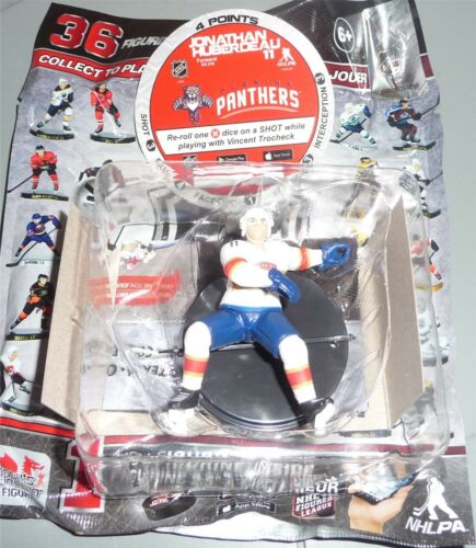"JONATHAN HUBERDEAU Florida Panthers 2.5/"" Series 4 NHL Imports Dragon Toy LOOSE"