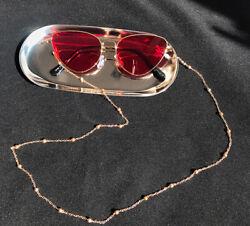 Brillenkette Brillenband Gold Silber Schwarz Sonnenbrillen Kette