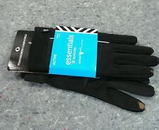 ISOTONER Womens Essentials Driving Gloves Smartouch phone one size STRIPE NEW