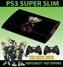 PLAYSTATION PS3 SUPER SLIM ALUCARD HELLSING 01 VAMPIRE SKIN STICKER & 2 PAD SKIN