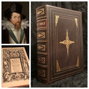 Details about 1611 FIRST ED Authorized KING JAMES BIBLE Ornate Binding  COMPLETE Rare