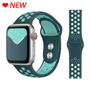 Correa Deportiva De Silicona Transpirable Para Apple Watch Pulsera Iwatch 5 4 3 Ebay