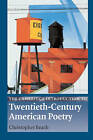 The Cambridge Introduction to Twentieth-century American Poetry by Christopher Beach (Paperback, 2003)
