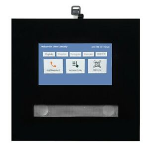 SES-Smart-Entry-Systems-Acrylic-7-034-Touchscreen-Video-Intercom-for-indoor-only