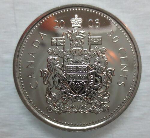 2006P CANADA 50 CENTS PROOF-LIKE HALF DOLLAR COIN