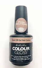 Artistic Colour Gloss Soak Off Gel Nail Color - Its Owl About Power 0.5oz