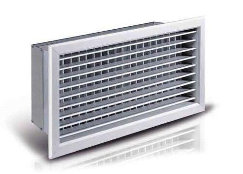 Bocchetta griglia mandata aria calda fredda bianca canalizzazioni diffusore aria
