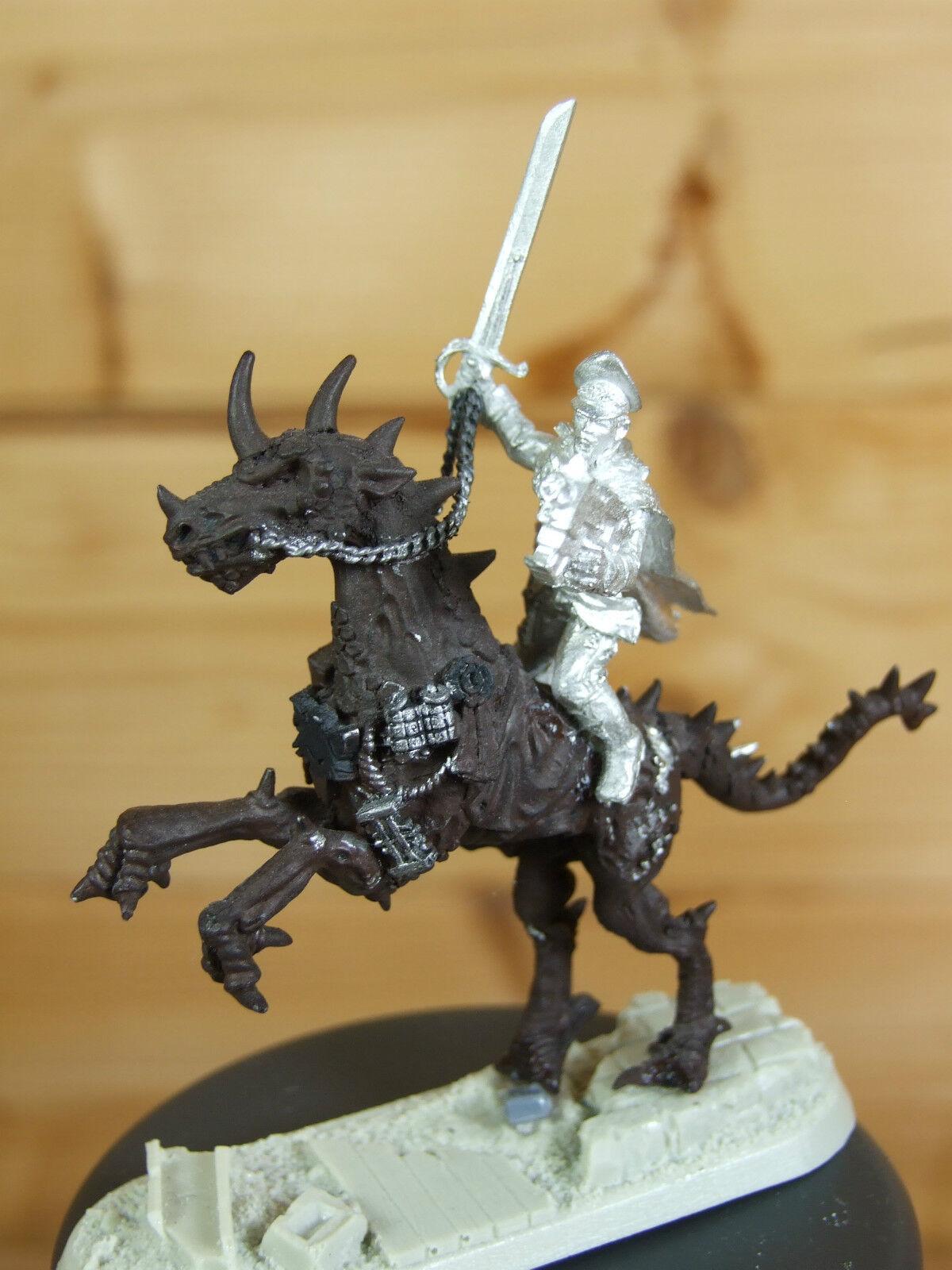 Converdeido Guardia Imperial Gaunt montando un Gorkamorka muttie Corcel Pintado (362)