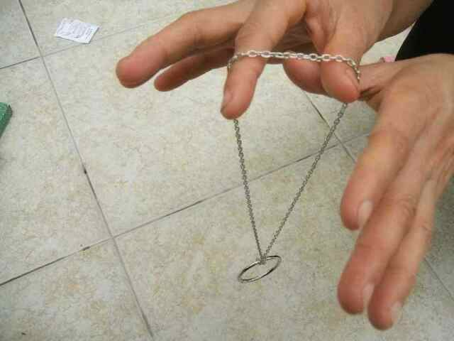 Self Linking Ring & Chain Close-up Stage Magic Trick VIDEO Show In my List