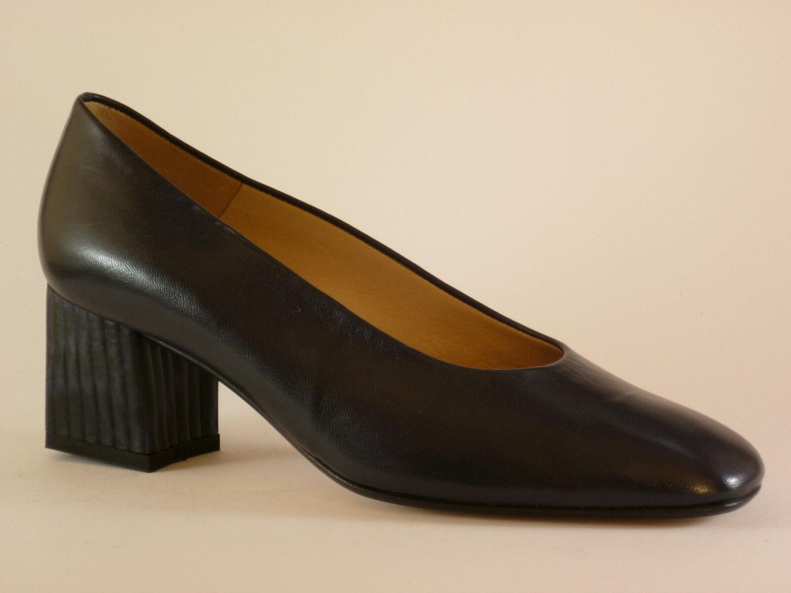FOGARIN Damen Schuhe 36 41 Leder Blau Abendschuhe Pumps NEU