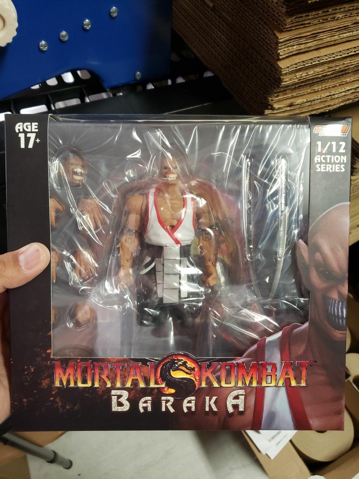 Storm Collectibles Mortal Kombat BARAKA