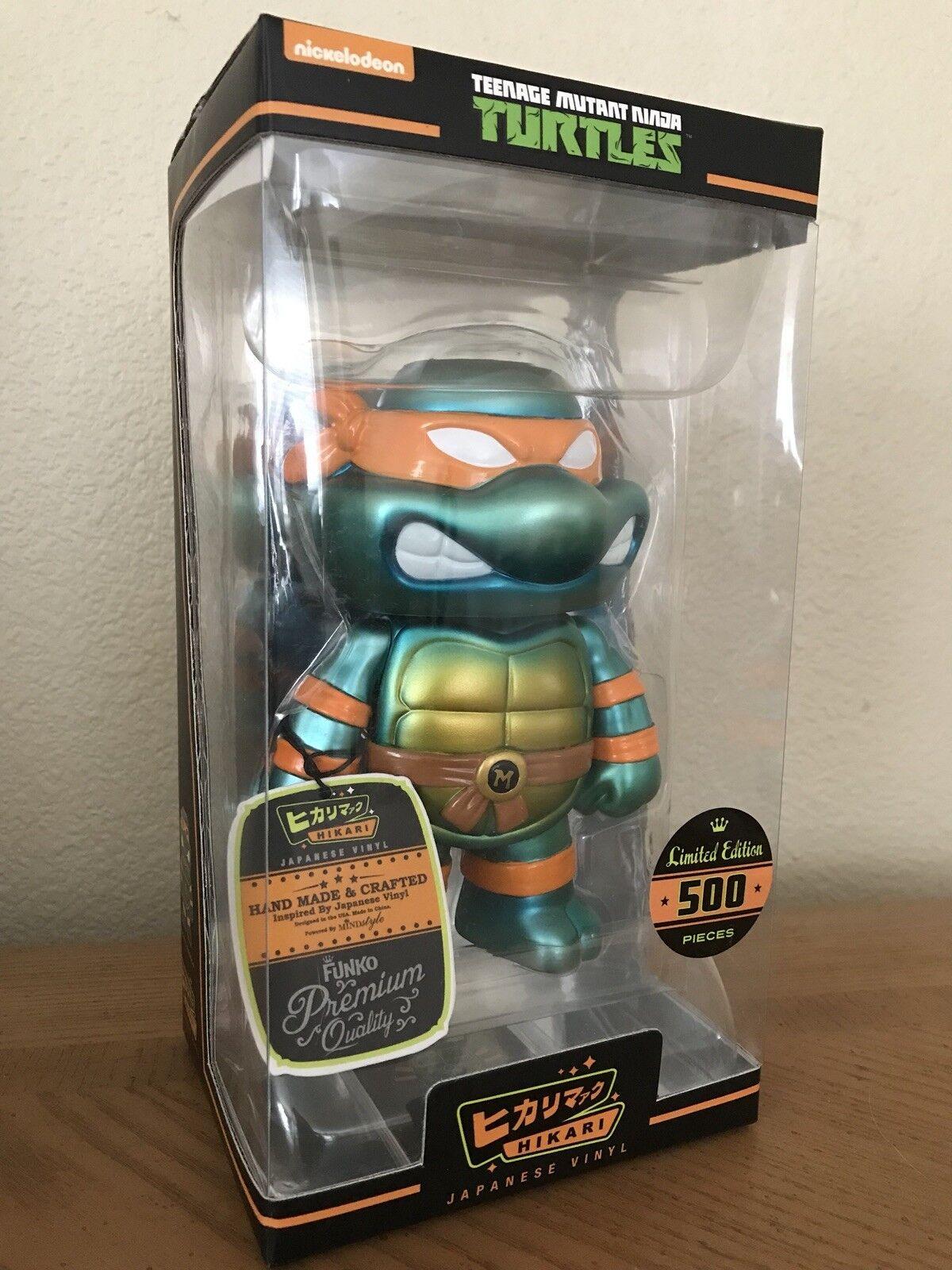 FUNKO Hikari Teenage Mutant Ninja Turtles Metallic MICHELANGELO  240/500