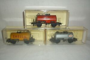 Trix Express - Échelle H0 3 Feuille Wagon-citernes (8.ei-288)