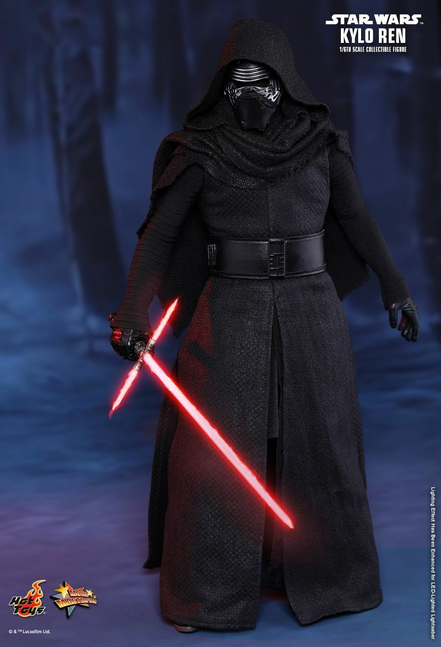 HOT TOYS 1/6 STAR WARS MMS320 THE FORCE AWAKENS KYLO REN MASTERPIECE FIGURE New
