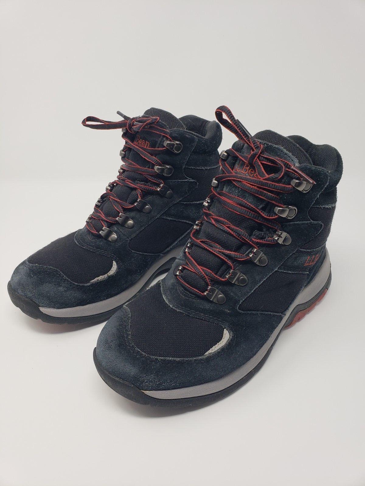 L.L. Bean Black Winter Boots with Primaloft Size 7.5 Medium
