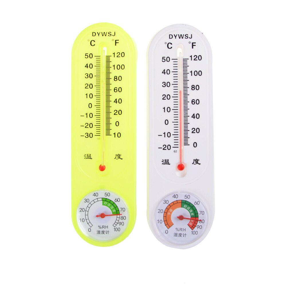 Household Thermometer Hygrometer Indoor Wall Hanging Weather Tester Pop.ji