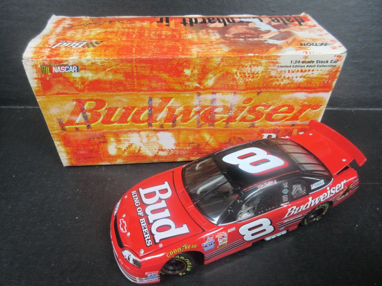 1999 Action  8 Dale Earnhardt Jr.--Budweiser Car-- 1 24th scale