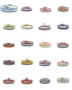 World-Flags-FAIR-TRADE-Wax-COTTON-Thai-WRISTBAND-Handcrafted-Bracelet-Wristwear