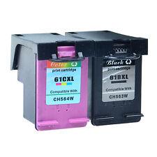 Compatible with 2PK 61XL Black Color Ink For HP Deskjet 2514 2540 2542 3000 3050