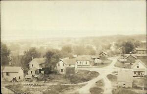 Waterville-MN-Birdseye-View-c1910-Real-Photo-Postcard