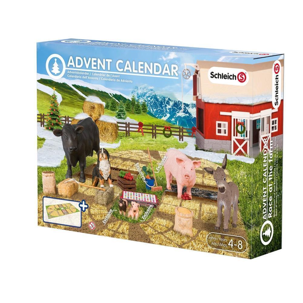 Schleich Weihnachtskalender.Schleich Adventskalender 97052 97052 97052 Bauernhof 2015 Farm World