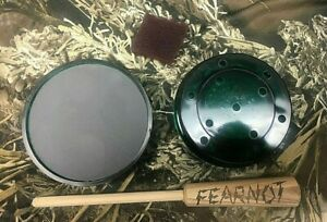 """Glass /& Slate 2 Sided Call Friction Turkey Pot Call /""""NEW/"""" FearNot Game Calls"""