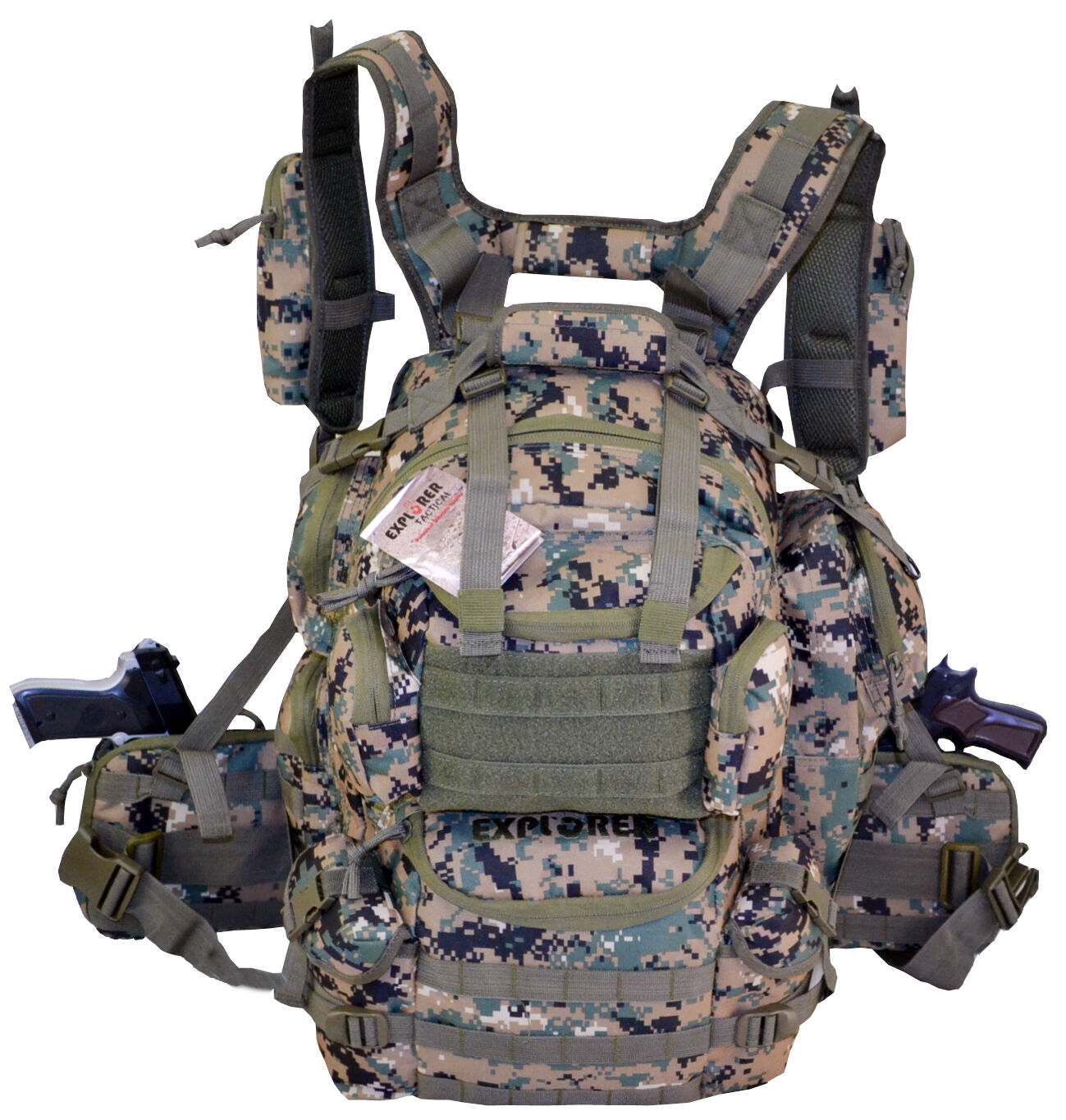 Ultimate Deluxe Tactical Assault 3-Day 72 Hours Survival Pack Backpack WD Farbe