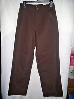 Boy's Carhartt Canvas Dungaree - Mustang Brown - Size 16