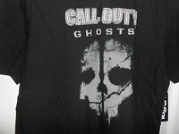 Men's Activision Call Of Duty Ghosts Video Game Black T-shirt Large