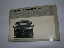 USO MANUTENZIONE ORIGINALE 1970 VOLKSWAGEN FURGONE